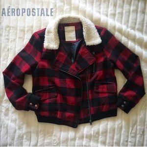 Aeropostale Plaid jacket